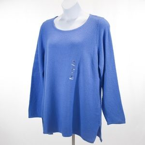 Charter Club Seed Stitch Tunic